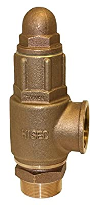 """Merrill MFG PRVHDNL200 No Lead Heavy Duty Relief Valve, 2"""" Inlet and Outlet, Maximum psi 150, 2"""" by Merrill MFG"""
