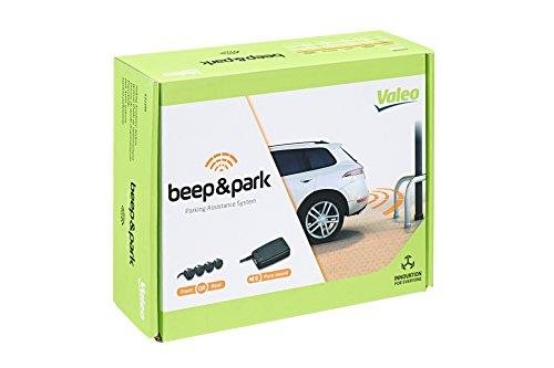 Valeo Beep&Park 632200 Einparkhilfe mit 4 Sensoren und Lautsprecher, Schwarz