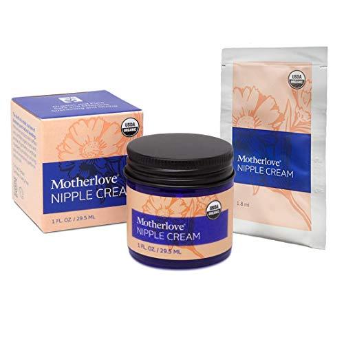 Breastfeeding tip - use Motherlove nipple cream to help relieve soreness