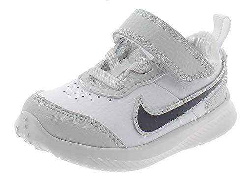 Nike Varsity Leather Scarpe Sportive Bambino Bianche CN9397100 Bianco 25 EU