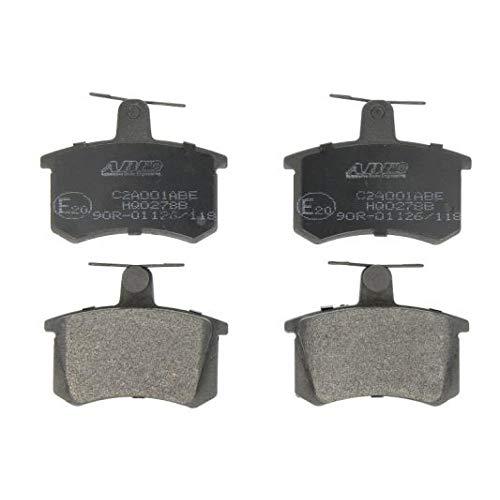 Preisvergleich Produktbild ABE C2A001ABE Bremsbelagsatz,  Scheibenbremse Bremsklötze & Bremsbelagsatz,  Bremsbeläge & Bremsbelagsatz,  Scheibenbremsbelage Hinten