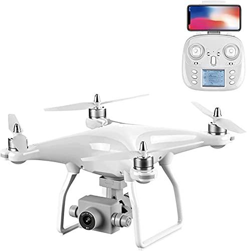 rzoizwko Drone, Drone Quadcopter Plegable, Gimbal de 3 Ejes con cámara 8K, Foto de 48MP, Tiempo de Vuelo de 35 Minutos, Transferencia de imágenes 5G Posicionamiento GPS Retorno Inteligente