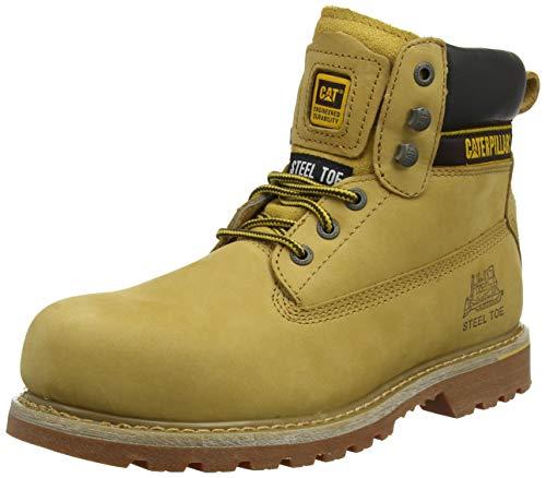 Cat Footwear Holton, Botas de Trabajo Hombre, Marrón Brown 003, 40 EU