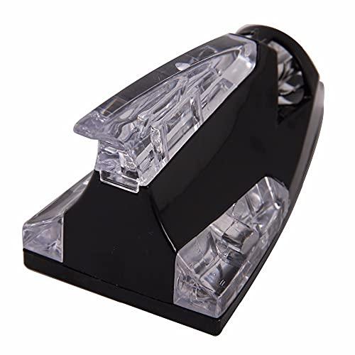HFDDF Antena de Aleta de tiburón de Coche, para Toyota Air Negro LED Colorido Energía eólica Iluminada Aire Aire Techo Etiqueta Decoración Universal
