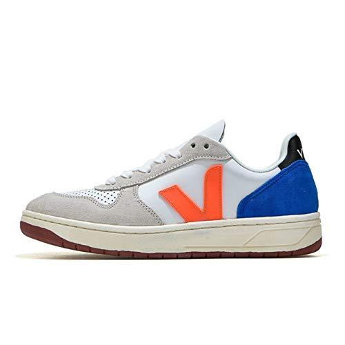 ZIJ Zapatillas de Deporte de los Hombres de la Moda de la Mejor Calidad, Todo Coincidencia clásico Transpirable Casual Mujer Caminando Zapatos Pareja Zapatos (Color : 6, Talla : 39)