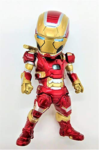 Prodigy Toys Iron Man / Captain Like Iron Man Figure with Yellow Iron Man Armor (Batteries Included!)