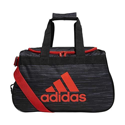 adidas Unisex Diablo Small Duffel Bag, Black Looper/Hi - Res Red/Black, ONE SIZE