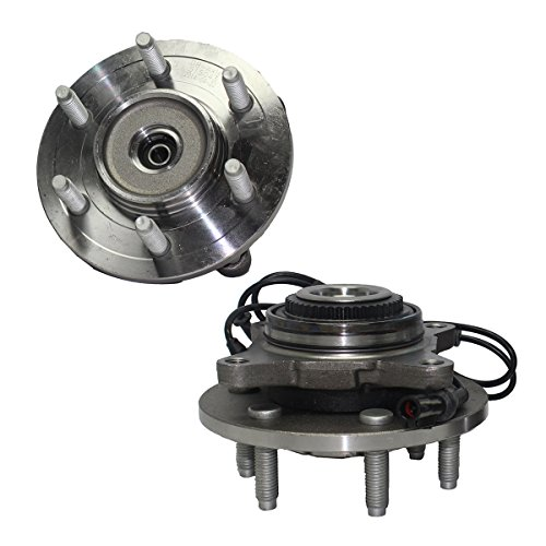 Detroit Axle 515046 Front Wheel Hub and Bearing Assembly 4x4 w/ABS 6-Lug Ford F-150 2004 2005