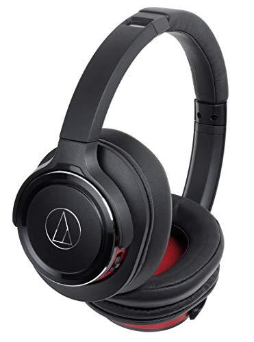 オーディオテクニカ Bluetooth対応ワイヤレスヘッドホン(ブラックレッド)audio-technica ATH-WS660BT BRD