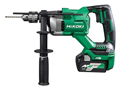 HiKOKI(ハイコーキ) 36V コードレス 振動ドリル D型ハンドル キー付きドリルチャック式 蓄電池2個・充電器・ケース付き DV3620DA(2XP)