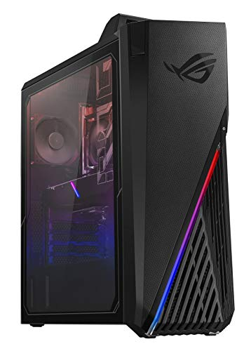 ROG Strix GA15DH Gaming Desktop PC, AMD Ryzen 7 3700X, GeForce GTX 1660 Ti, 16GB DDR4 RAM, 512GB PCIe SSD, Wi-Fi 5, Windows 10 Home, GA15DH-BS762