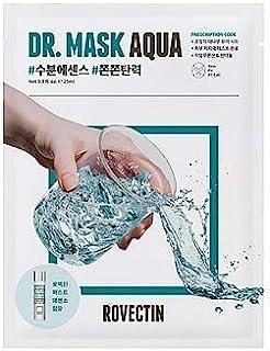 [ROVECTIN] Skin Essentials Dr. Mask Aqua, Cica (5 vellen) (Aqua (10 vellen))