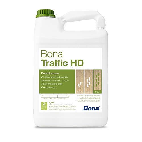 Bona Traffic HD Parkettlack - matt - 4,95 Liter - Versiegelung, 2 K Parkettlack