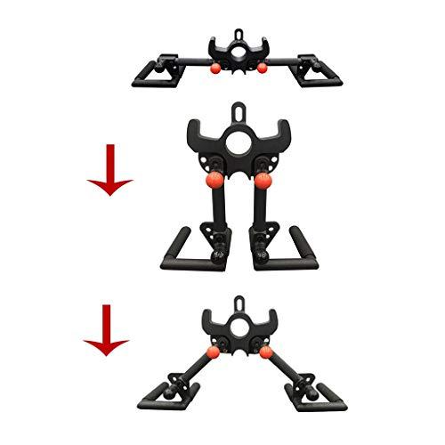 3 Las posturas se puede ajustar libremente Accesorio de culturismo por cable, tríceps aprieta la Barra Lateral tirar hacia abajo barra de archivos adjuntos Mango for cable de la máquina, máquina de Sm