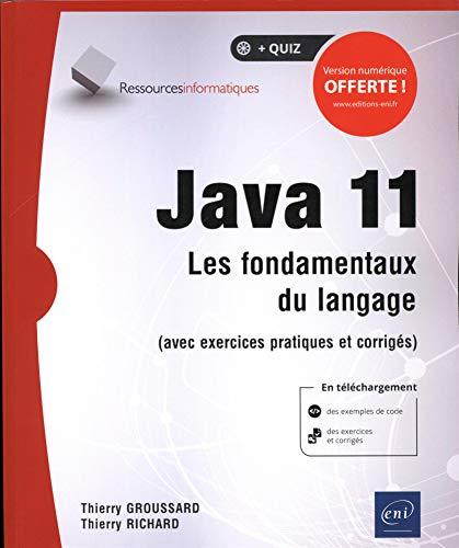 Java 11 Les fondamentaux du langage