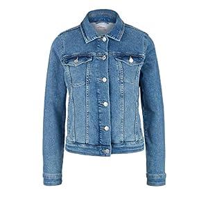 s.Oliver Damen Jacke aus Stretchdenim Light Blue