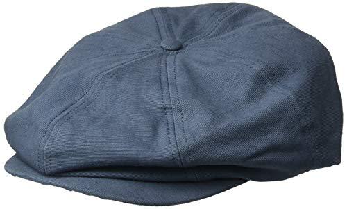 BRIXTON Herren Brood Newsboy Snap Hat Kappe, dunkelblau, X-Small