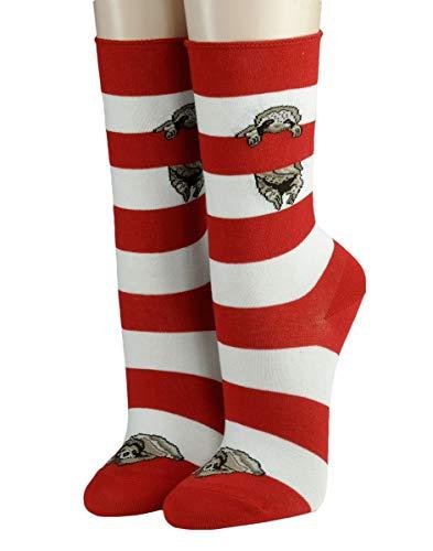 CRÖNERT Socken Longsocks Söckchen im Design Relax 18312 (39/42, rot 1600)