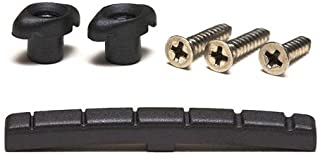 Graphtech Black Tusq Xl Nut - Slotted Nut And Retainer Pak