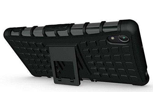 Custodia in silicone in casi rigidi Armatura Cover Sony Xperia Z2 Shock Absorbente Cover 5.2 pollici