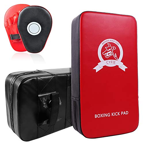 DEWEL Set de Boxeo Entrenamiento - Paos Boxeo Entrenamiento Almohadillas de Impacto...