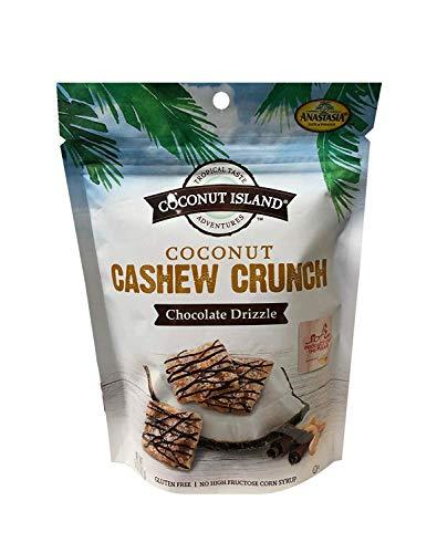 Coconut Cashew Crunch Chocolate Drizzle
