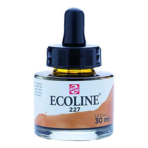 Aquarela Liquida Ecoline Talens 227 Yellow Ochre 30ml