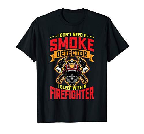 Rauchmelder Feuerwehrmann Feuerwehr Feuermelder Rauch T-Shirt