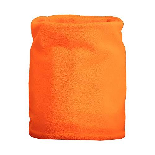 CMPI5 Scaldacollo colorto in Pile, Accessori Bambina, Orange Fluo, U, Orange Fluo