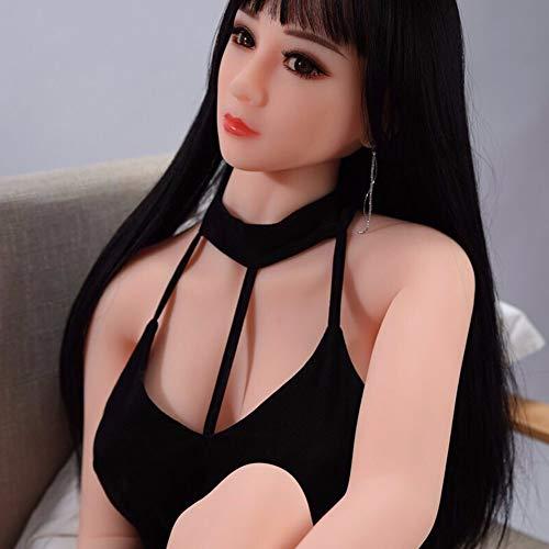 Aufblasbare Puppe männliche Masturbation Gerät erste Haare mit Haaren intelligente Aussprache halbfesten Silikon Mädchen Baby Allround-Vier-in-One nahtlose automatische Erwachsenen Spaß Puppe Sex-