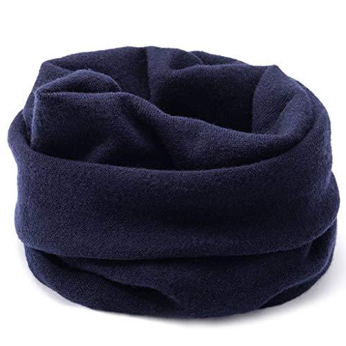 Bufanda de los hombres Pura lana bufanda unisex invierno máscara caliente de la bufanda de punto suéter de las bufandas de doble uso caliente del babero con la caja regalo regalo for él Regalos para a