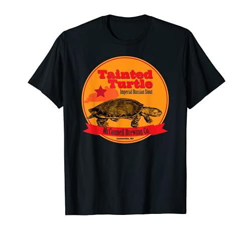 Tortuga manchada Stout McConnell Cerveza Artesanal Vintage Camiseta