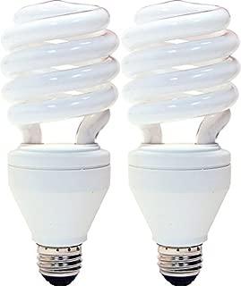4-pack 100-watt Equivalent Ge 66354 26-watt CFL Spiral Reveal Light Bulb