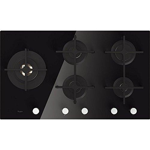 Whirlpool Goa 9523/nb Plaque – Plaque (intégré, gaz, verre, rotatif, partie supérieure avant, 230 V)