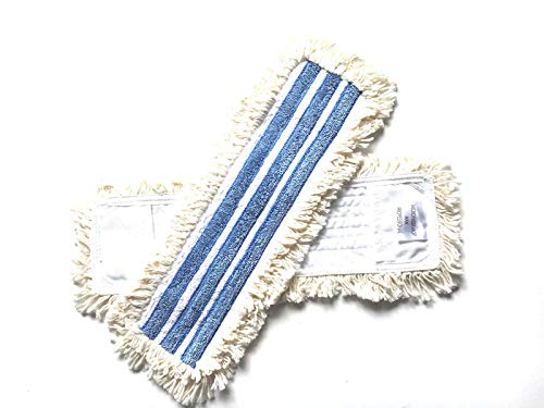 MAM Professional 42cm Microfaser-Cotton Wischmop passt Ha-Ra Jemako Mophalter