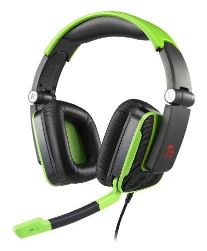 TT Esports Shock Serie Thermaltake One Konsole Gaming Headset–Grün grün