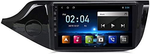 Doppio 2 DIN Autoradio Android 10.0 Navigazione GPS per autoradio da 9 pollici compatibile con KIA Cee'd CEED JD 2012-2016 Supporto Plug and Play Supporta uscita RCA completa Riproduzione automatica
