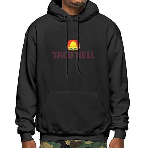 Men's Taco Bell Long Sleeve Hoodie Black