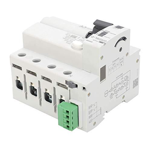 FORETTY DIANLU26 Dispositivo de protección contra sobrecargas de 4P GRD9L-D + GYL9 Módulo de componente de protección electrónica de Voltaje (40A) Rendimiento Estable