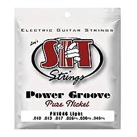 SIT STRINGS PN1046 LIGHT POWER GROOVE エレキギター弦×3セット