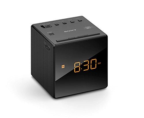 Sony ICF-C1 Alarm Clock with Fm & Am Radio, Black