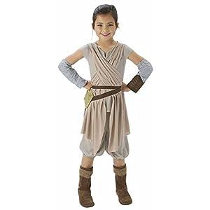 Disney Store Star Wars Force Awakens Rey Girls Halloween Costume Size 5 6 7 8