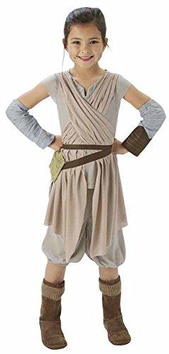 Rubie's-déguisement officiel - Star Wars- Déguisement Luxe Star Wars VII Rey - Taille L- CS820263/L