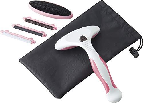 コジット 衣類にやさしい 毛玉取りブラシ ピンク 8×6.3cm 洗濯塾推奨