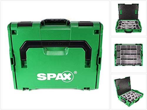 Spax montaje maletín Sortimo L-Boxx Caja de almacenamiento, para tornillos–sin accesorios (5000009166019)