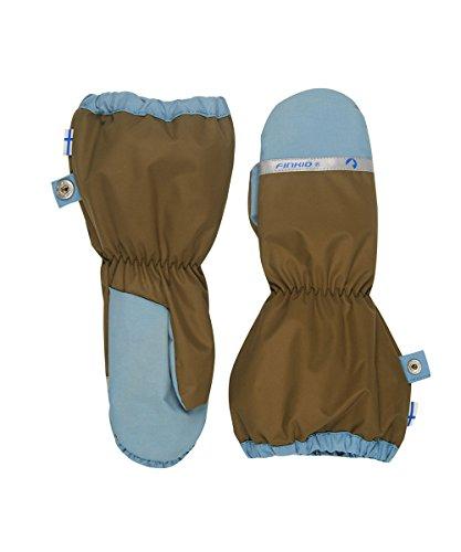Finkid Pakkanen capers smoke blue Kinder Winter Handschuhe