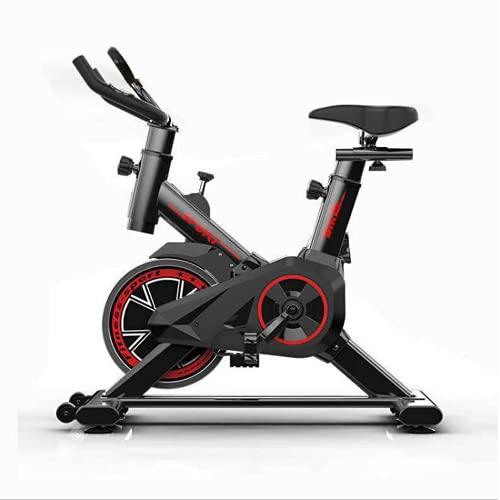 WUYANJUN Indoor Exercise Bike, Comfortable Weight Loss Folding Spinning Bike, Fitness Equipment Recumbent Cycling Bike, Home Cardio Gym Machine for Training