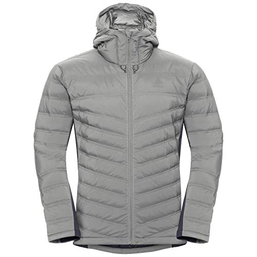 Odlo Herren Insulated Severin Cocoon Jacke Concrete Grey, XL