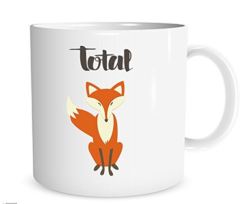 Total Fox Mug Funny Fox Coffee Cup Handmade