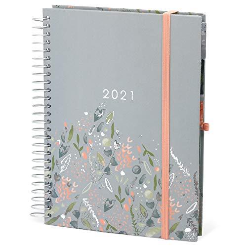 Boxclever Press Life Book Familienplaner A5 Kalender 2020 2021. Terminplaner 2020/2021 mit 7 Spalten für ein viel beschäftigtes Leben. 16-monatiger Schülerkalender 2020 2021 von Mitte Aug'20 - Dez'21.